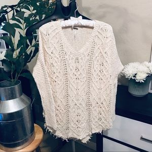 Free people knit sweater size M